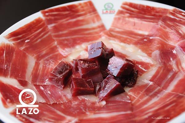 plato corte jamon iberico