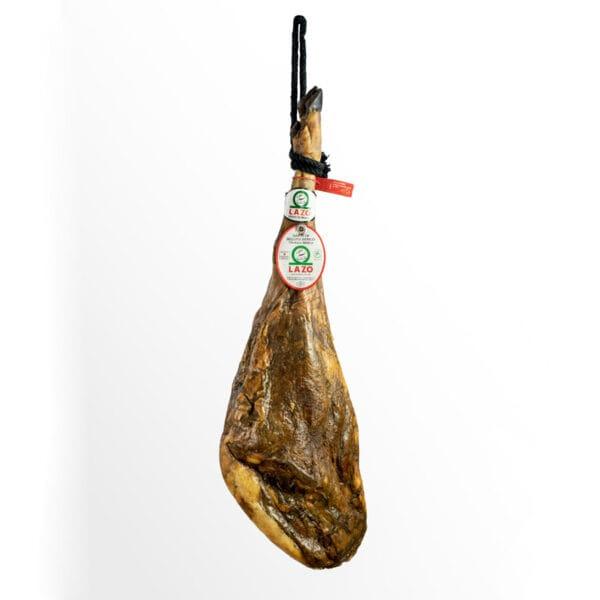 Jamón de Bellota Ibérico (75% Raza Ibérica). LAZO